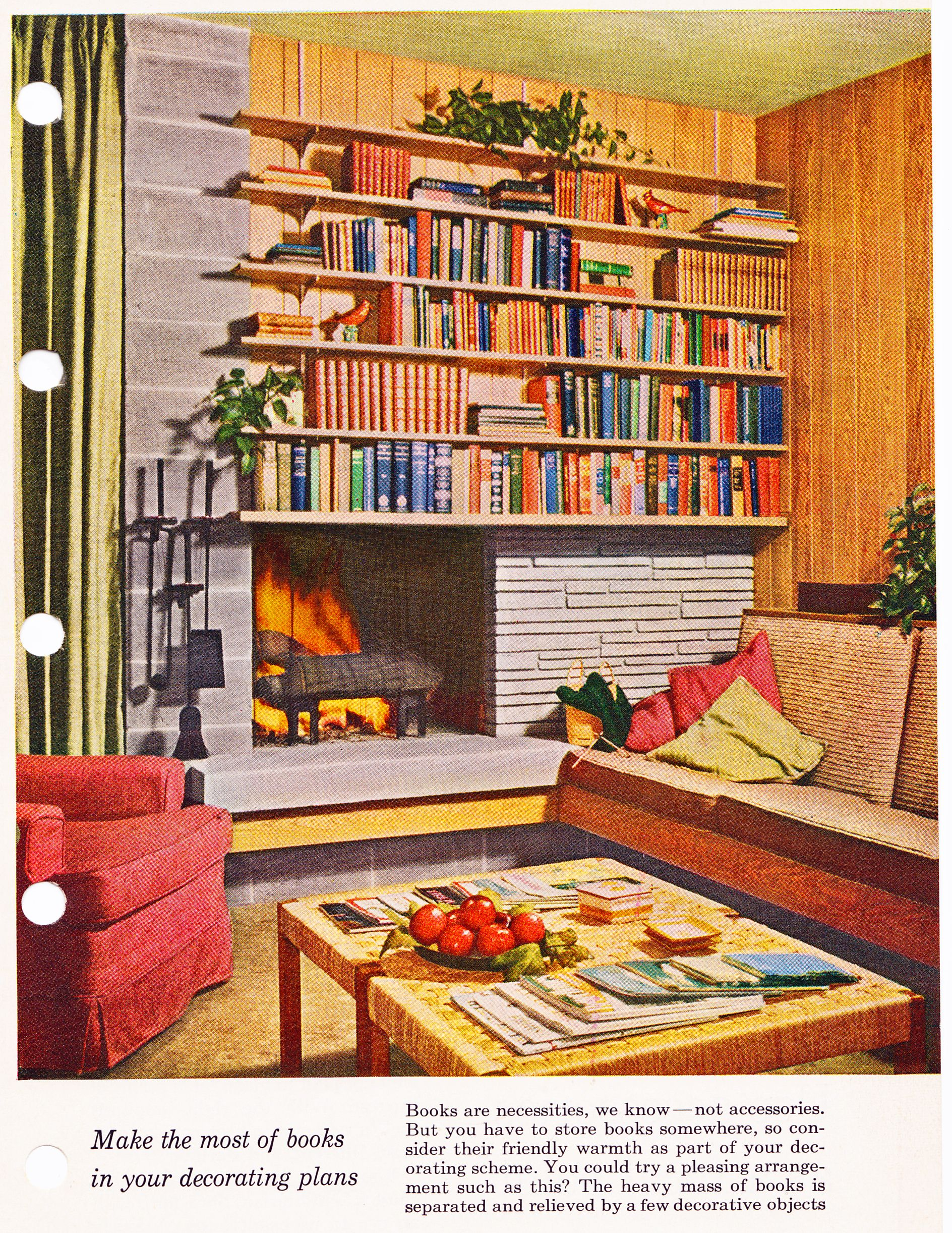 Better Homes And Gardens Decorating How To Decorate With Books Better Homes Gardens Decorating