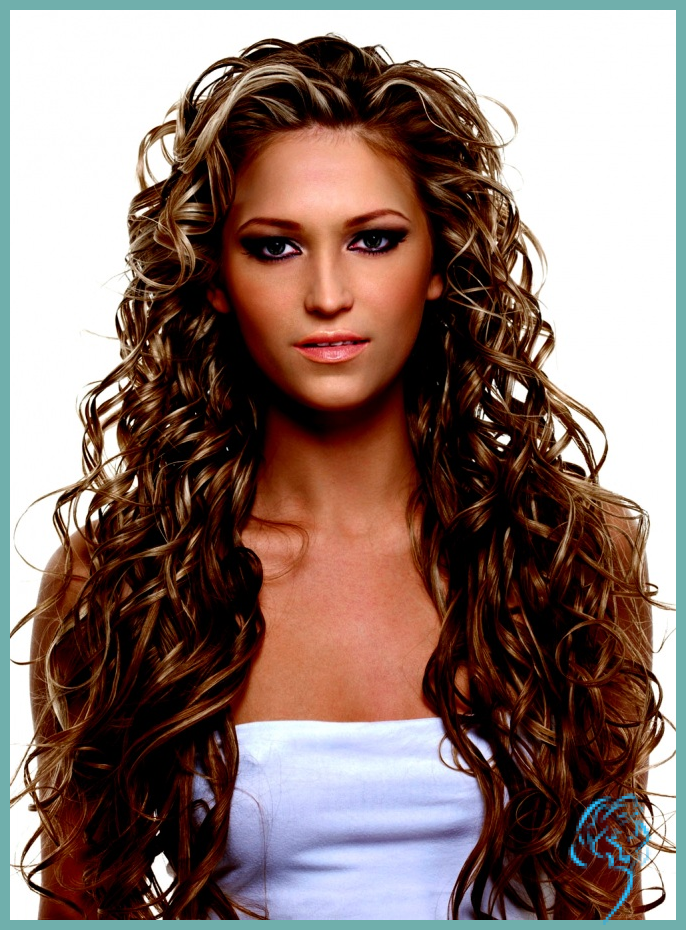 Locken Frisur Damen Lang Friseur Damen Frisuren Schone