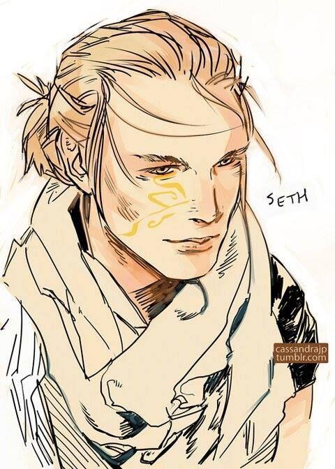 Seth Covenant Serie Titan Serie Inspiracao Para Personagens
