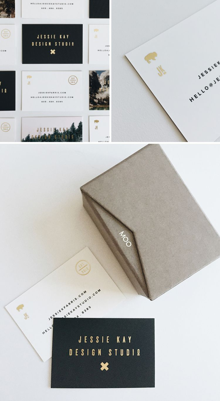 Product Review Moo Gold Foil Graphic Design Pinterest