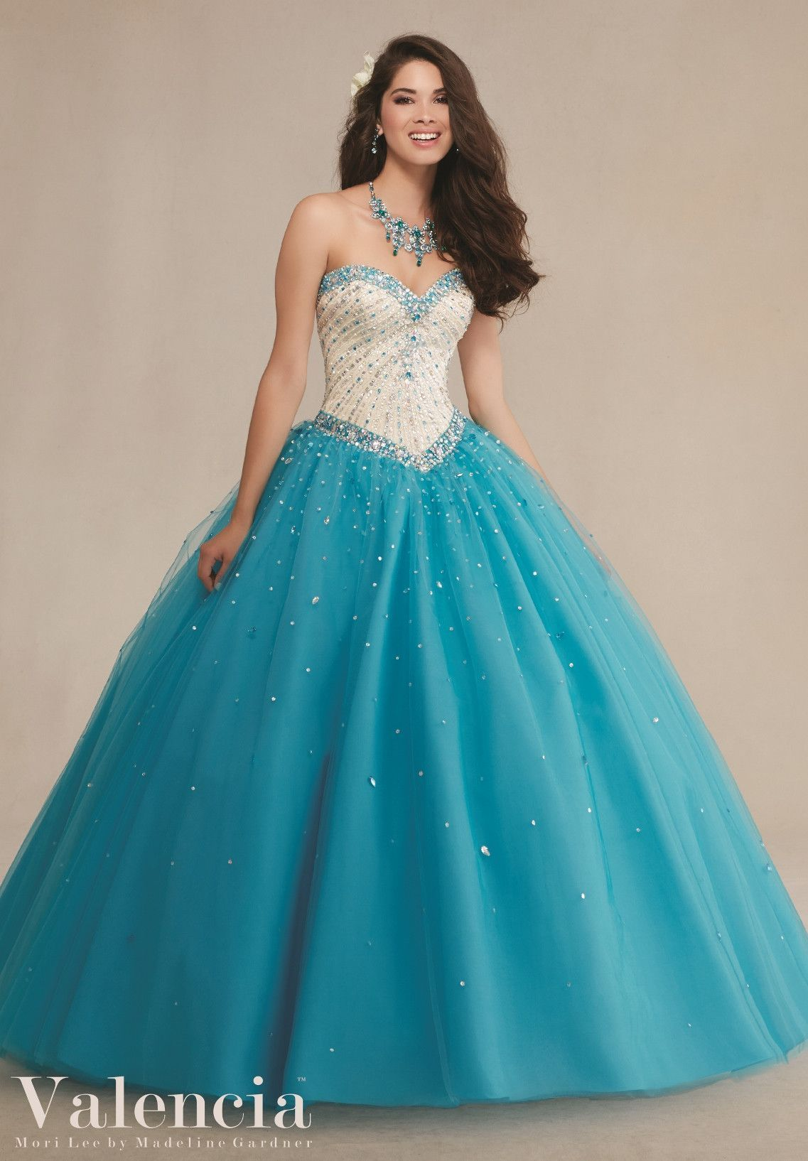 Mori Lee Valencia Quinceanera Dress 89083 | 15 años, Vestiditos y ...