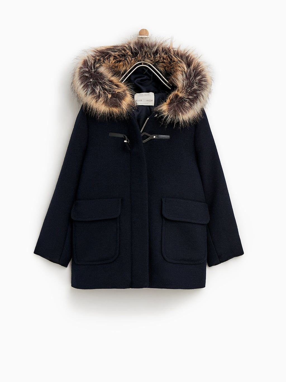 8a40ea0f Image 1 of HOODED DUFFEL COAT from Zara - 35.99 USD | Zara - Girl ...