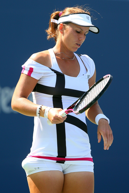 Varvara Lepchenko at US Open 2012 #WTA   Tennis Anyone ... Varvara Lepchenko Tennis