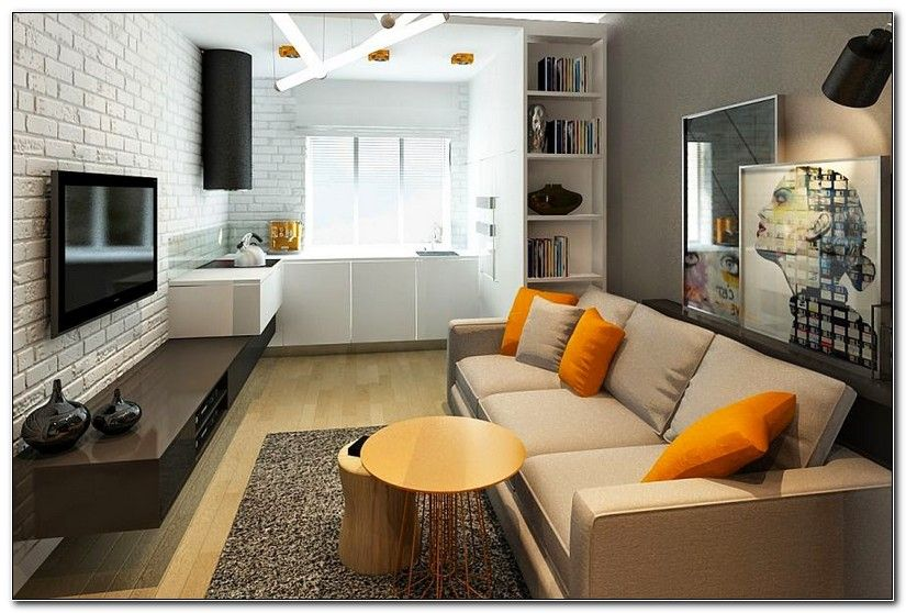 Small Kitchen And Living Room Designs Combine In 2020 Interior