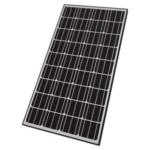 Nature Power 165w Rigid Monocrystalline Solar Panel Best Solar Panels Monocrystalline Solar Panels Solar Panels