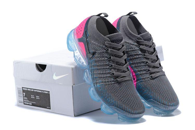 Cheap WMNS Nike Air VaporMax 2 Dark Grey Pink Flash For Sale  083b5731df