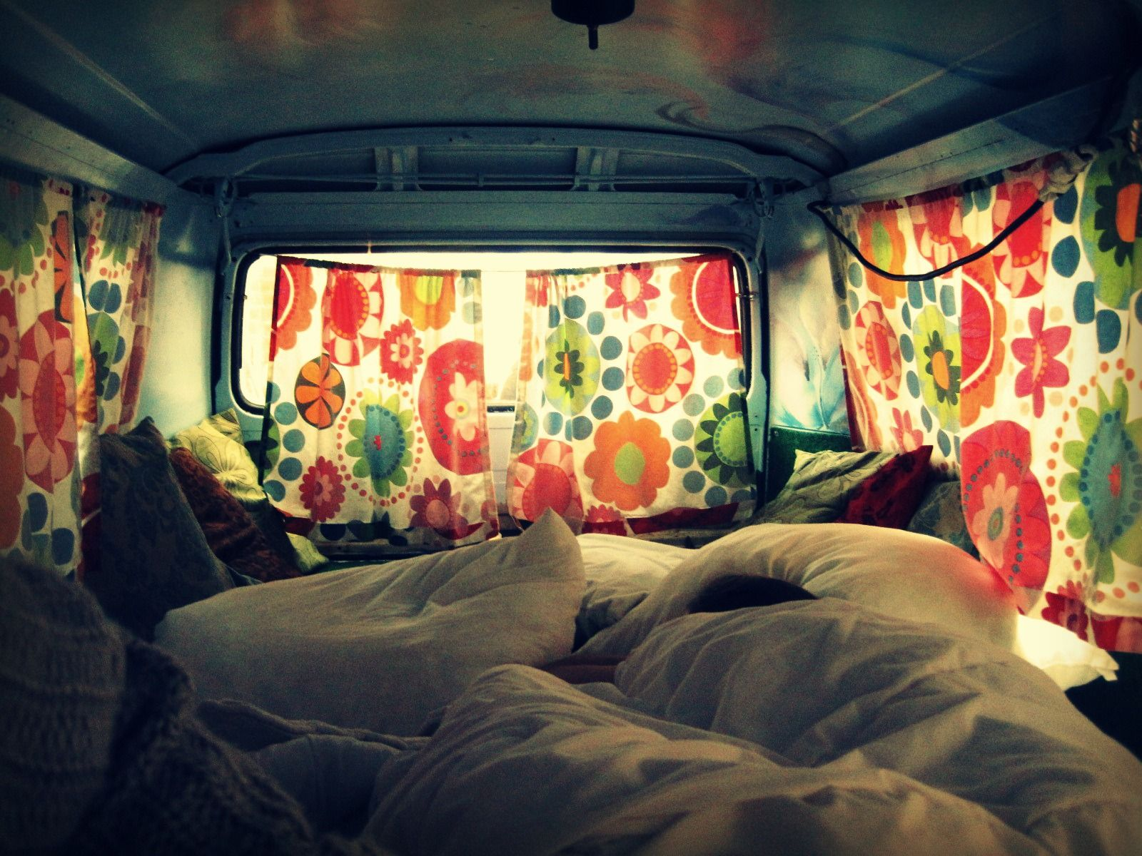 Hippie Buses Inside The Hippie Bus Our Favorite Room Hostel In The Hague
