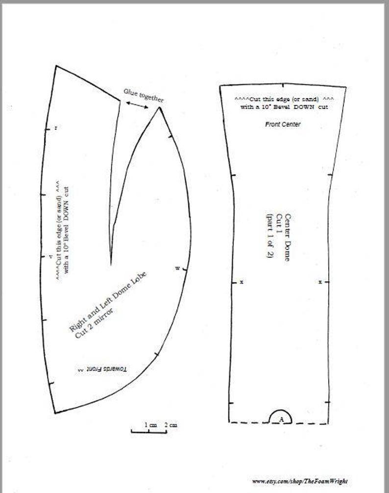 Pattern: Simple Boba Fett / Mandalorian Style Helmet