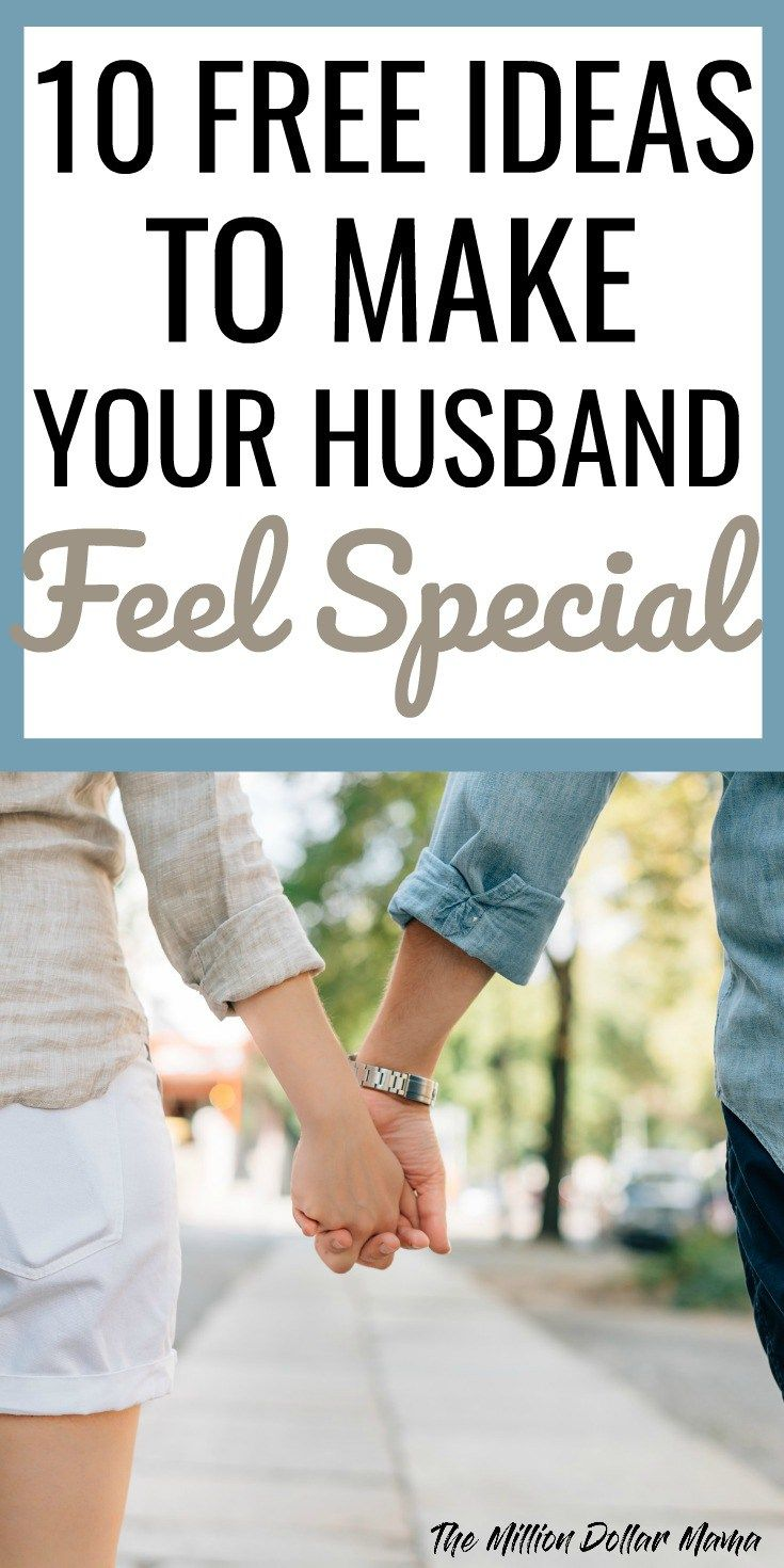 ideas to make him feel special
