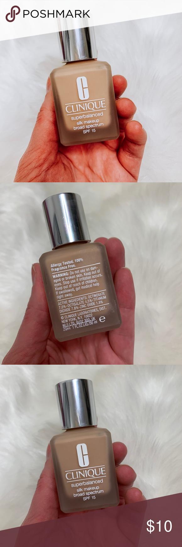 Clinique Superbalanced Silk Makeup Fragrance free