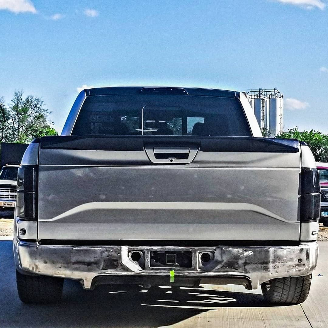 Rear bumper fabrication F150, Lowered f150, Bumpers