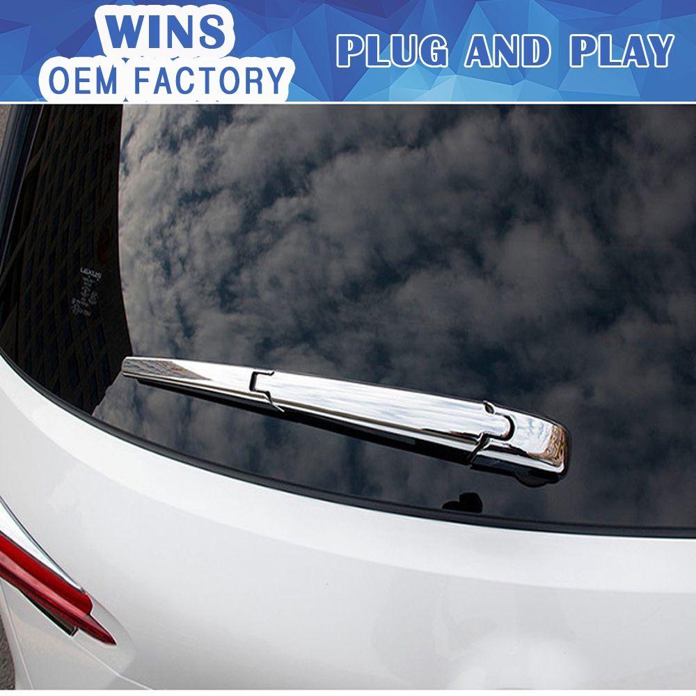 Abs Chrome Rear Window Wiper Cover Rear Windshield Windscreen Wiper Car Styling For Lexus Nx200 Nx300h Nx200t Car Windscreen Wipers Car Accessories Rear Window