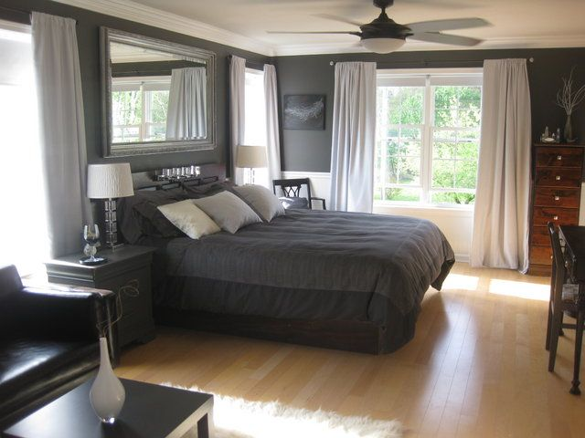 I need a dark gray paint for exterior I have looked at tons of gray - schlafzimmer braun weiß