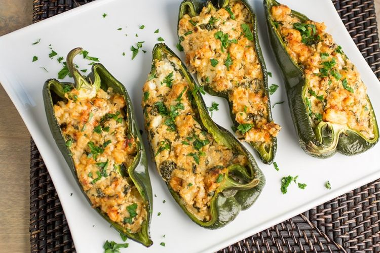 Our Best Stuffed Pepper Recipes Stuffed Poblano Peppers Stuffed Peppers Chili Pepper Recipes