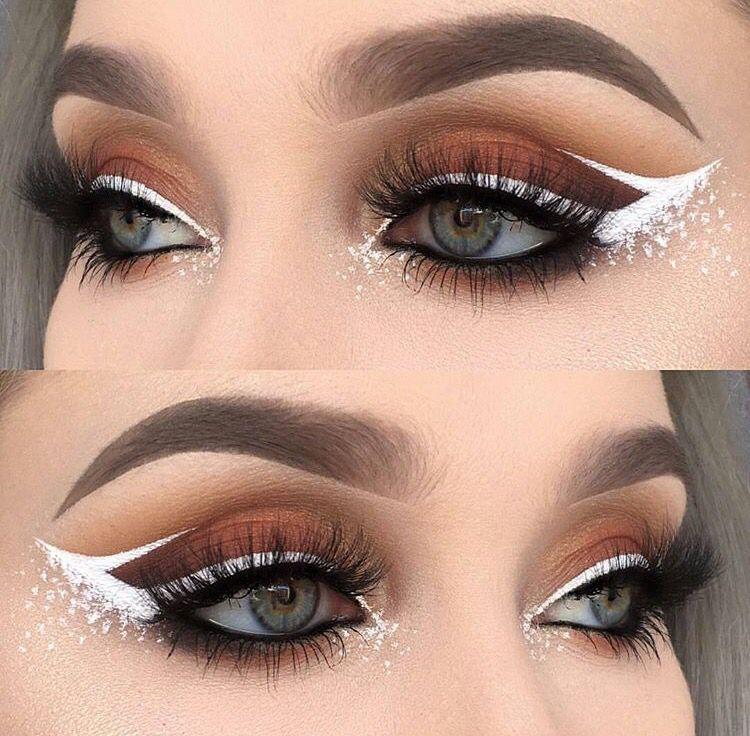 99 DIY Makeup Ideas Fashiotopia White eyeliner makeup