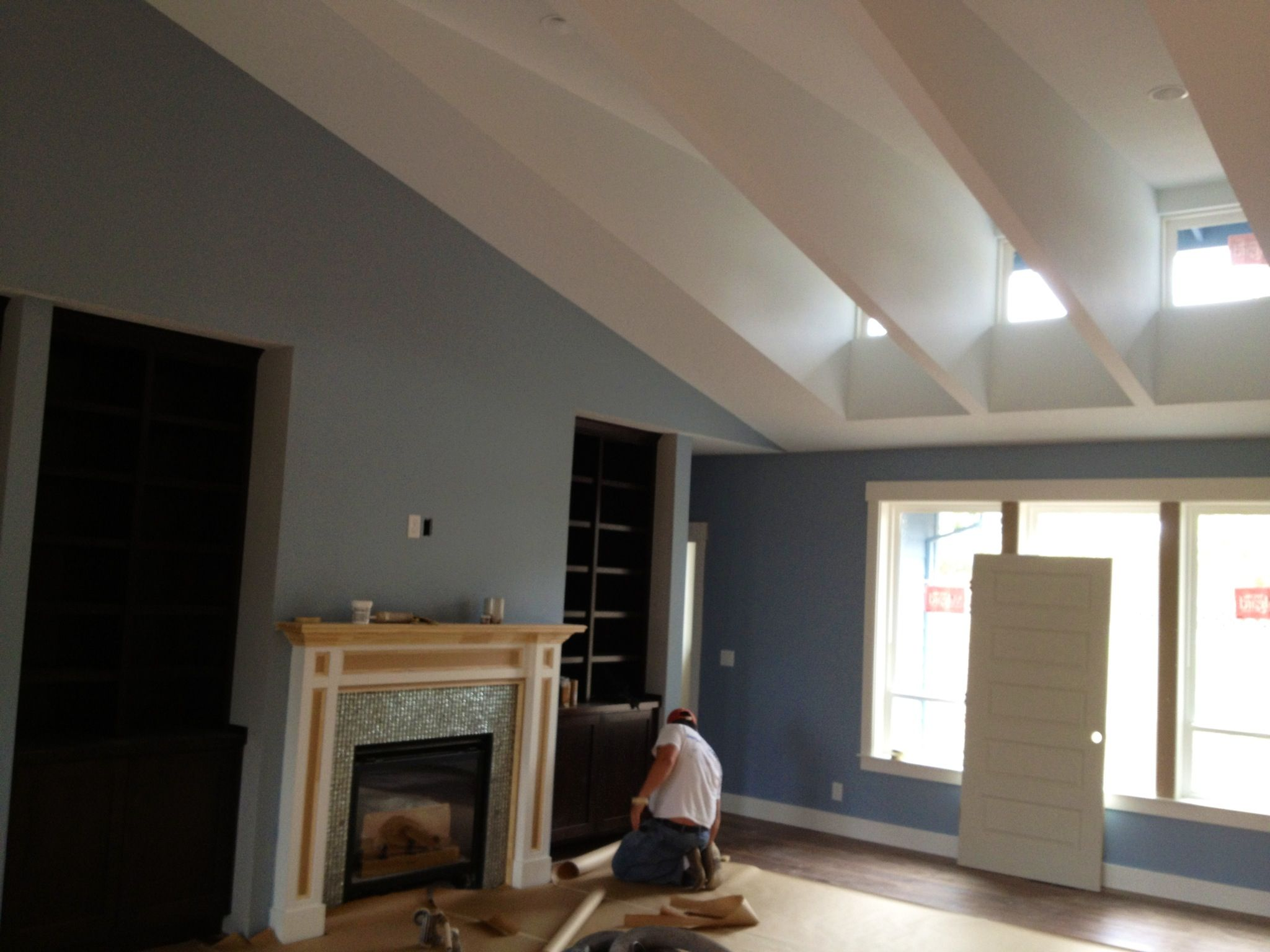 Transom window application a great way to get light into a space