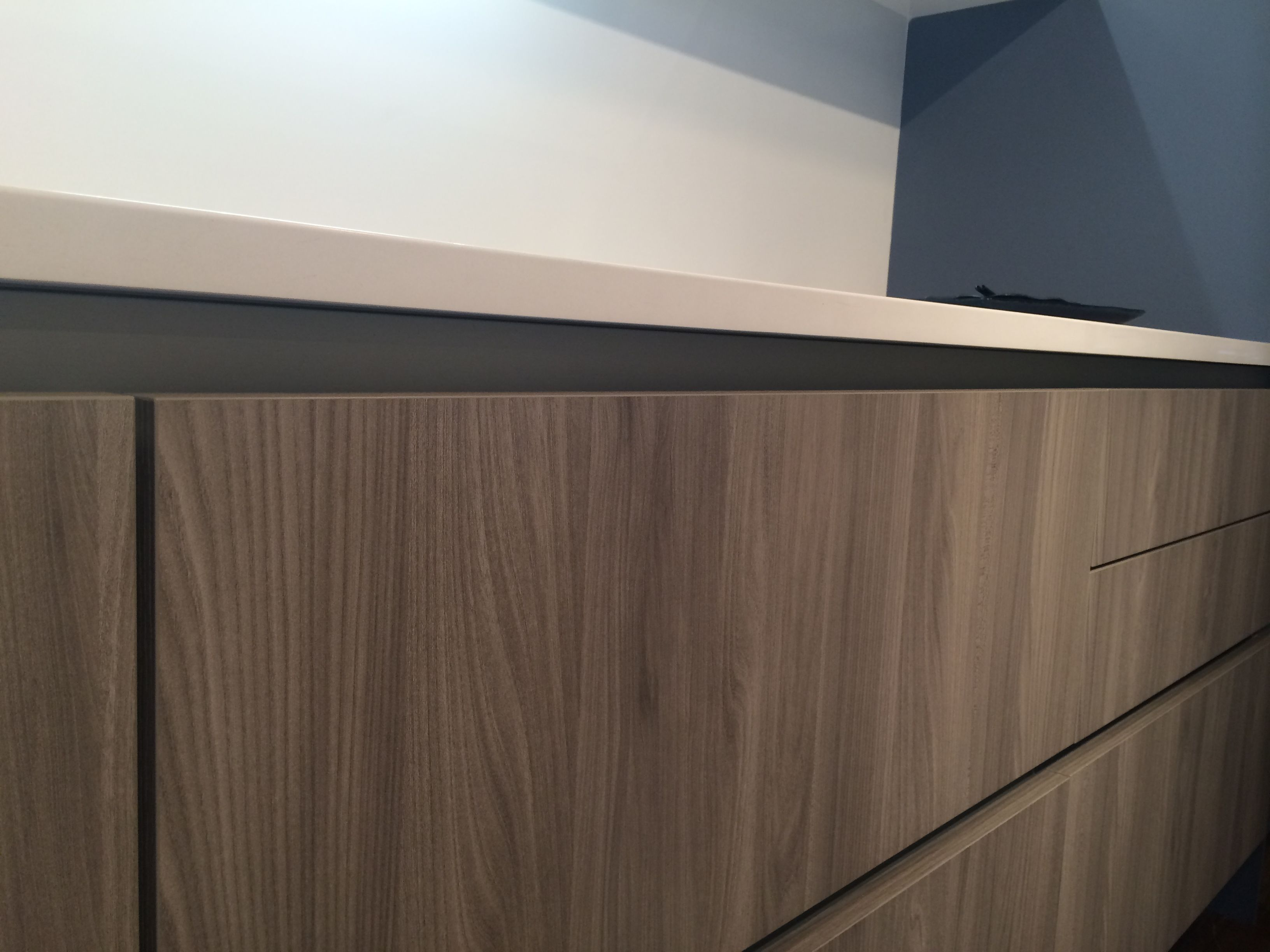 Cesar Kora Grey Elm Cabinets Mckb Apartment Ideas Cabinet