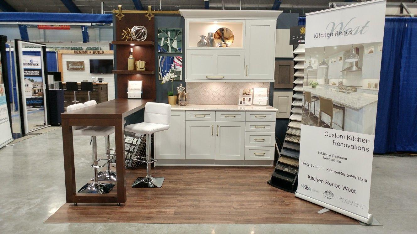 Langley Home And Garden Show Kitchen Renos West Booth 50 Kitchen Renovation Custom Kitchen Kitchen Reno