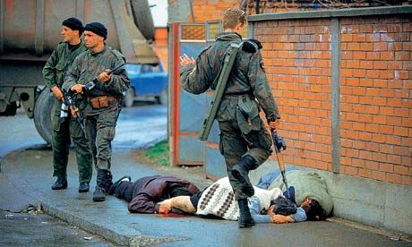 Bosnia 1992 Ron Haviv: 'I was shaking when I took the shot. None