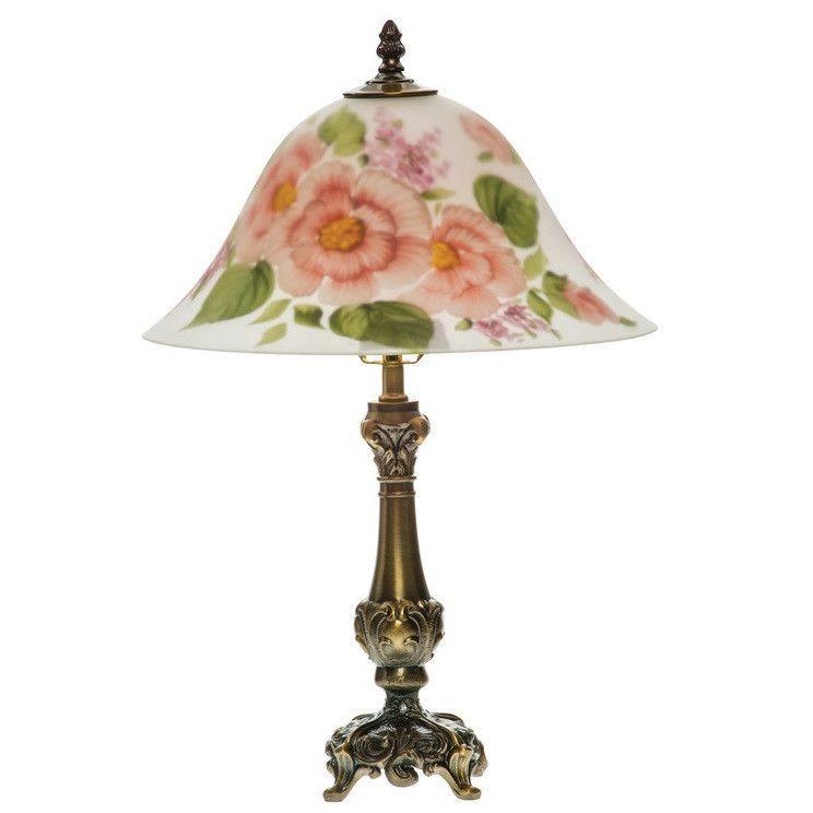 Pink Carnation Lamp