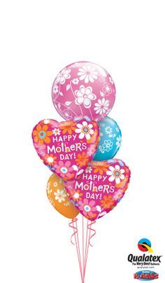 Mothers Day Balloon Decorations Google Search Qualatex Balloons Balloon Decorations Mothers Day Balloons