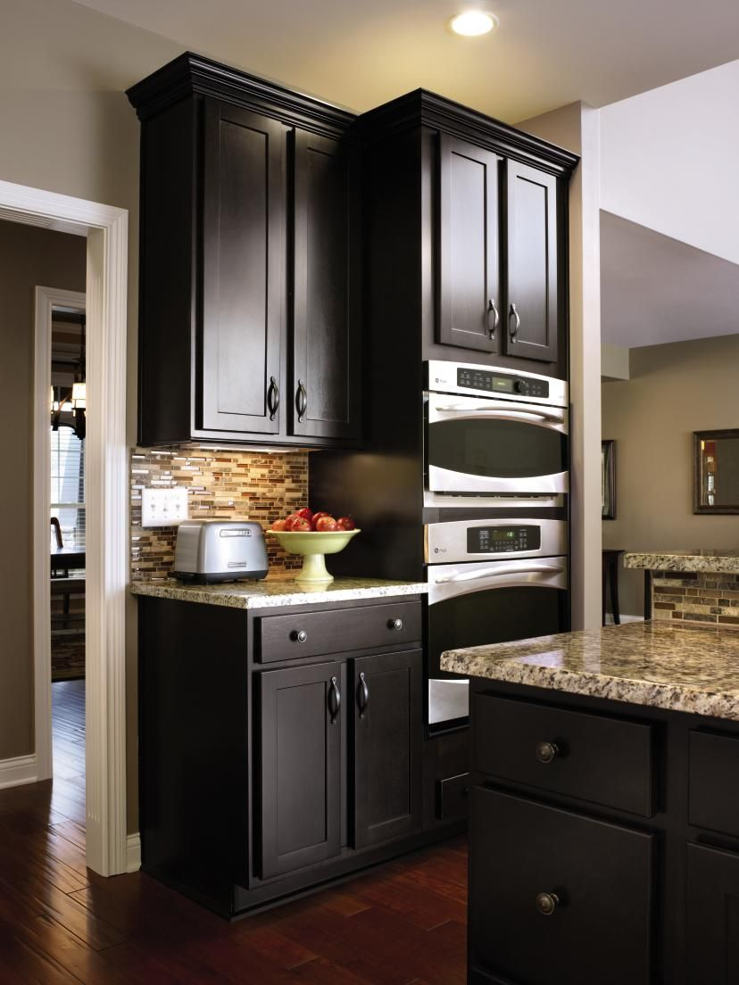 Premium Kitchen Cabinets: Aristokraft's Modern Sarsaparilla Is A Deep, Rich Finish