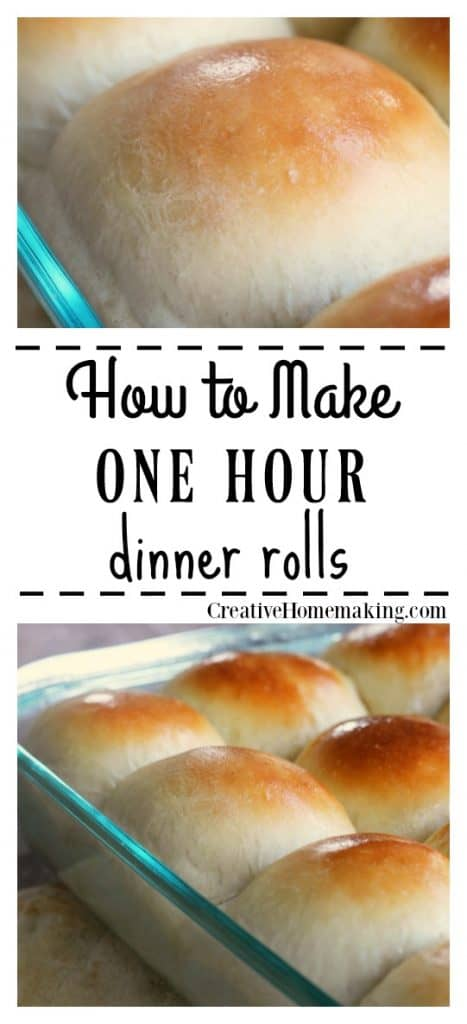 Photo of One Hour Dinner Rolls