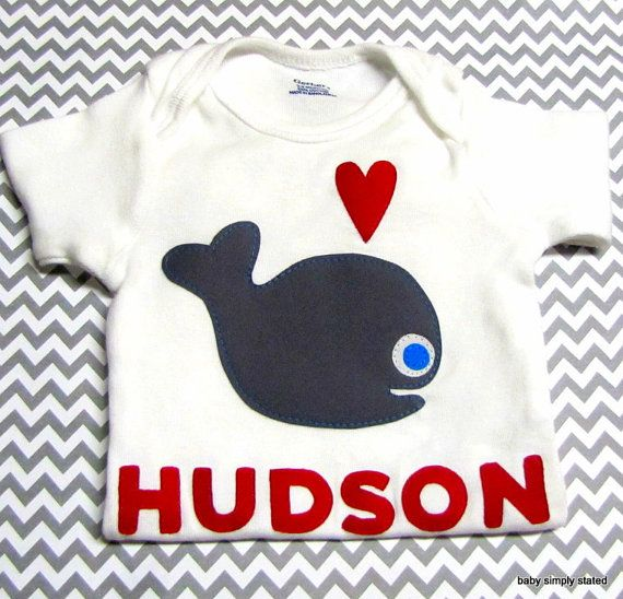 6e24e0cb633f Valentine s Day Onesie Nautical Onesie Personalized Baby Clothes ...
