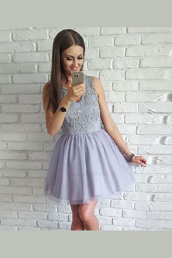 7aacfad71cc Cheap Soft Lace Prom Dress