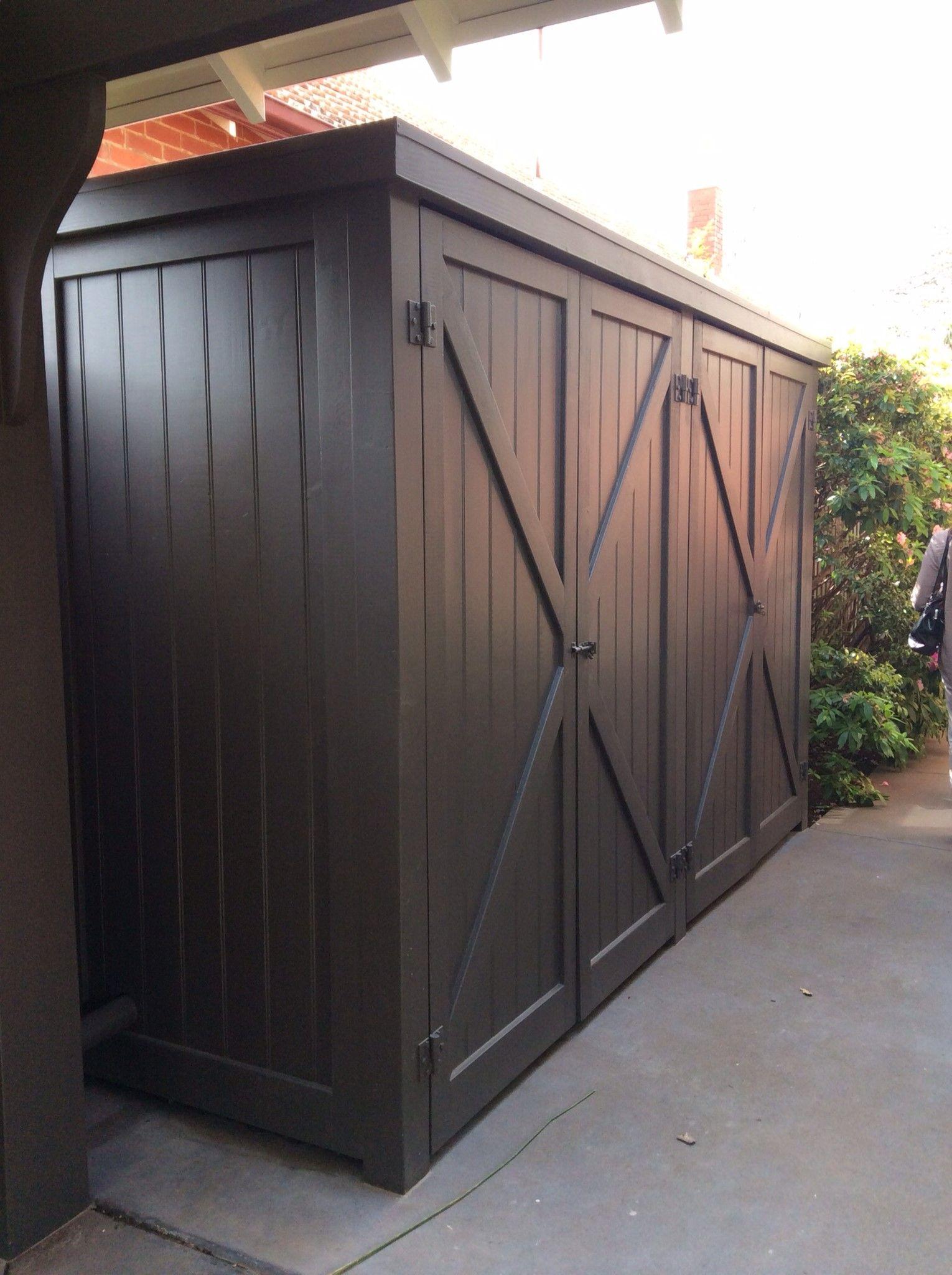 Carport Idea. Bank Of Storage Cupboards To Store Mower, Garden Tools Etc.  .. (back Part) | Organization | Pinterest | Carport Ideas, Cupboard And  Banks