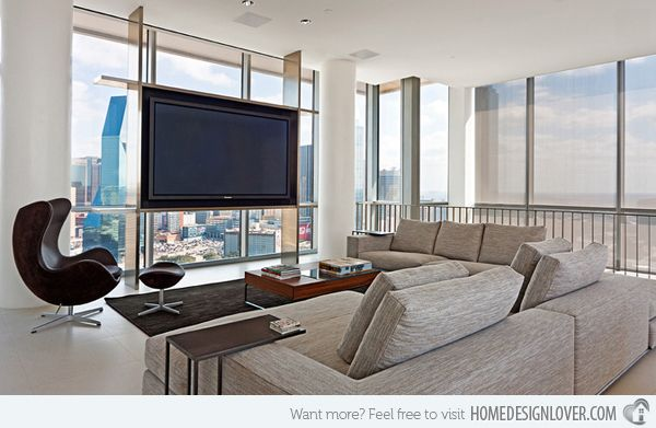 15 Modern Day Living Room TV Ideas | Search, Design and Living ...