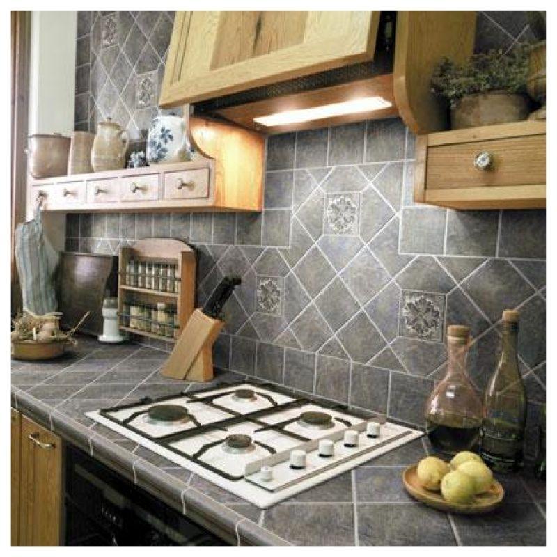 Bancada Revestida de Cerâmica ? | Click Interiores | Cozinhas ...