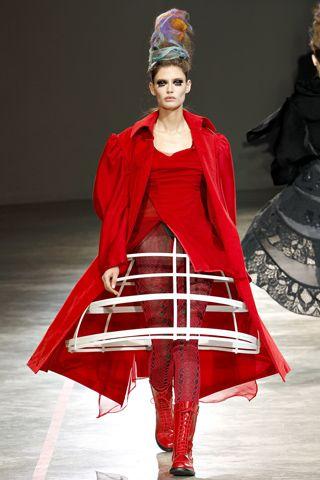 6. Designer Yohjji Yamamoto 2011 - inspired by the Crinoline Period jacket much like the paletot.