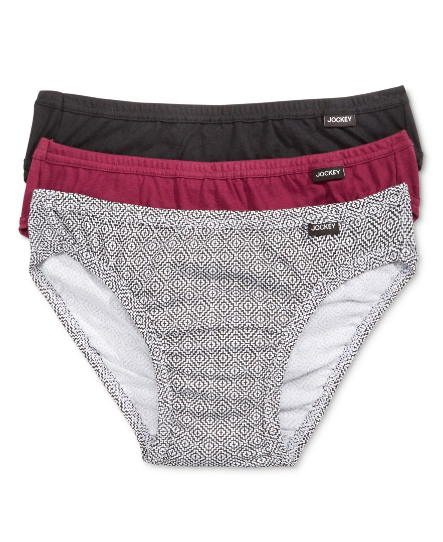 5d25a20c93ae Men's Underwear, Elance Bikini 3-Pack | Products | Jockey men's ...