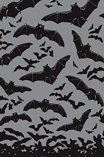 Sourpuss Spooksville Bats Shower Curtain