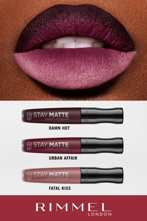 Ombre Lip Goals Having An Urbanaffair With New Shades Of Stay