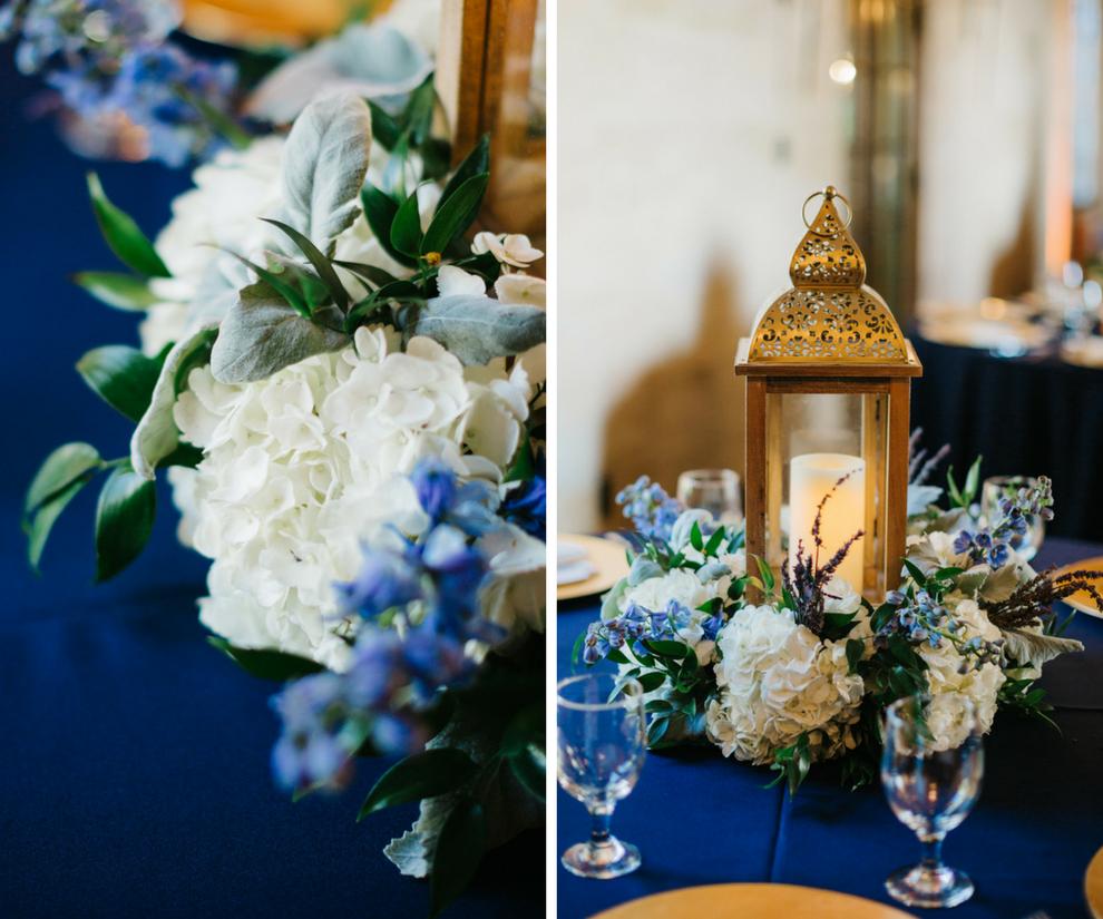 Navy Blue Wedding Ideas: Elegant Navy Blue & Gold Sarasota Wedding