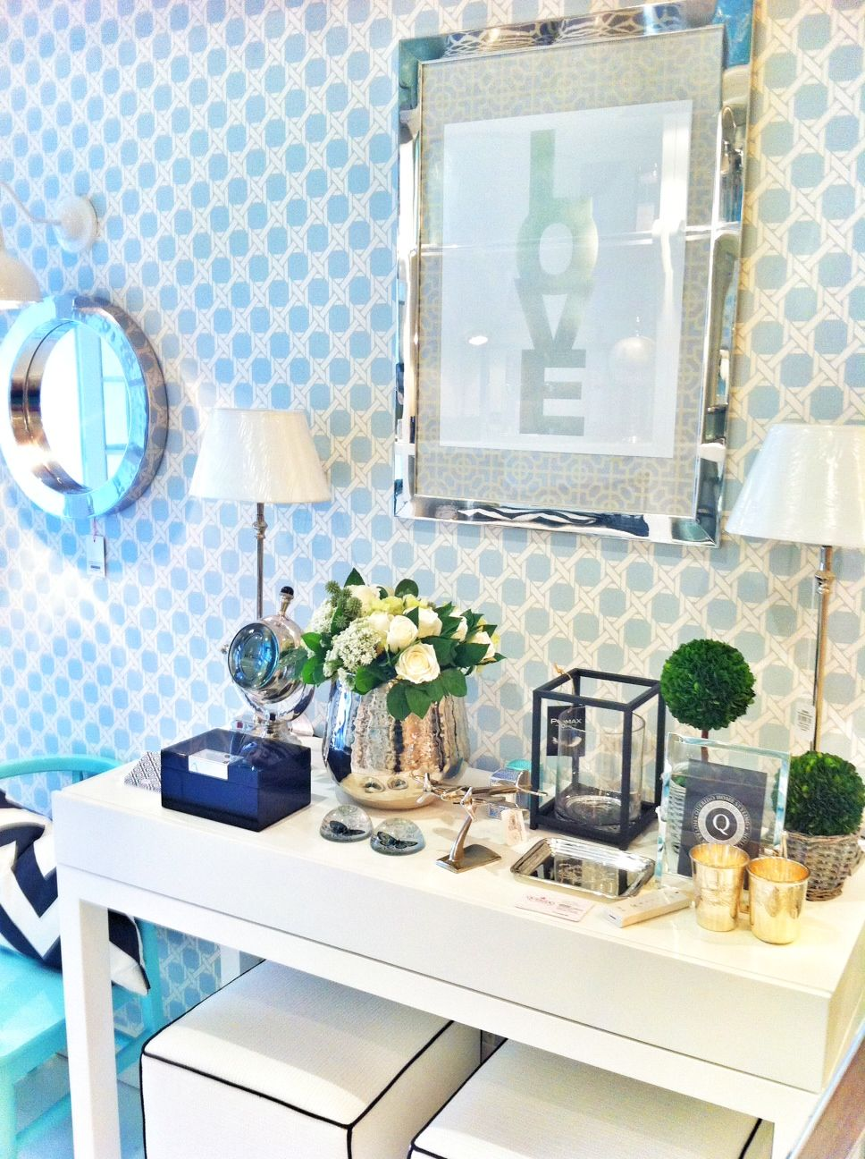 love it! by Ana Antunes Home Styling | Hall | Pinterest