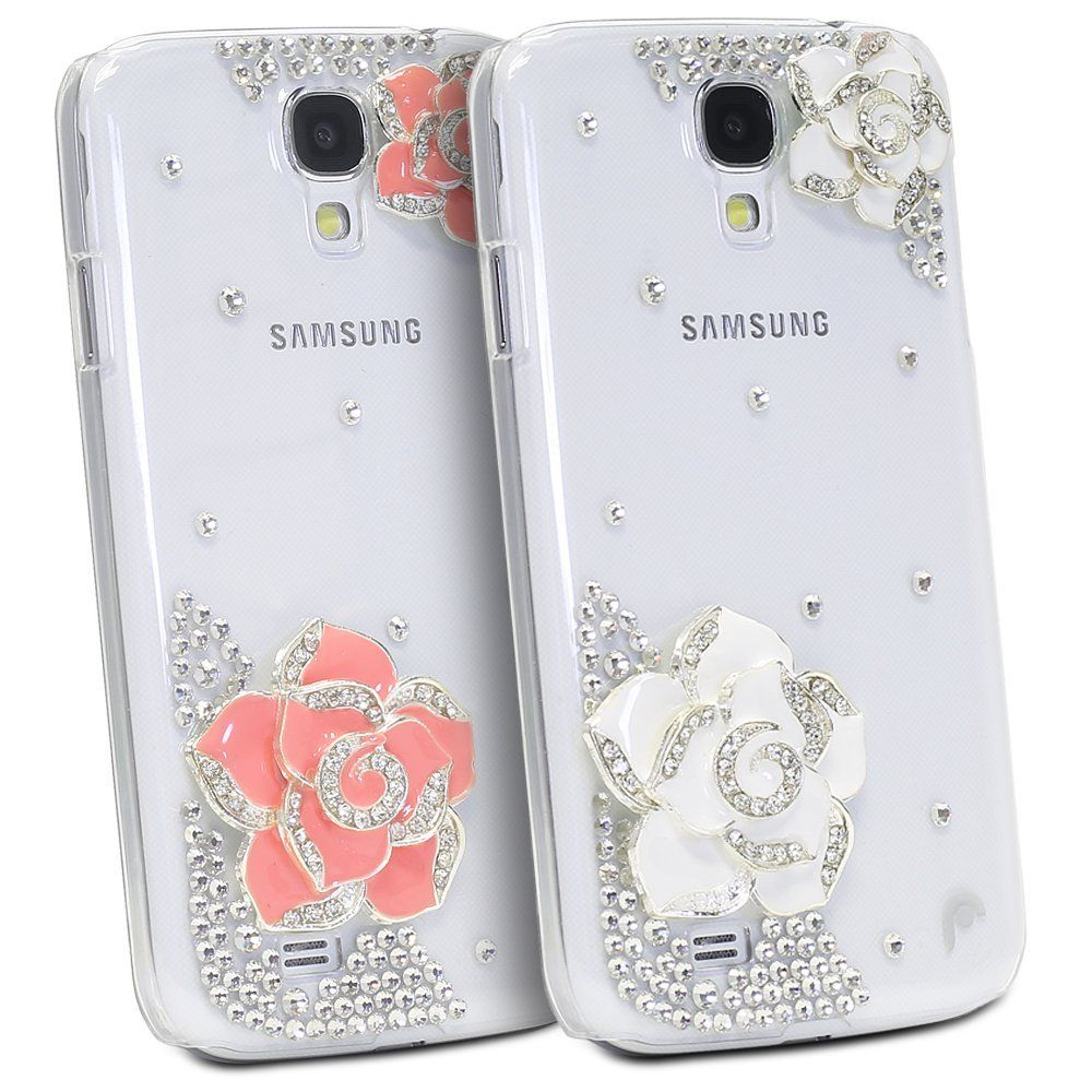Amazon com: Fosmon GEM Series 3D Rhinestone Flower Bling Design Case