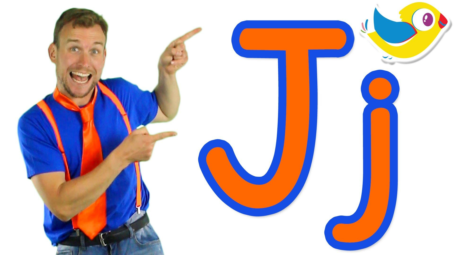 The Letter J Song let's learn the alphabet! Here's