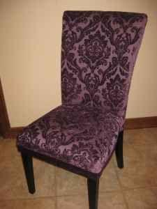 Charmant Purple Damask Chair By Mustang Sallyu0027s.
