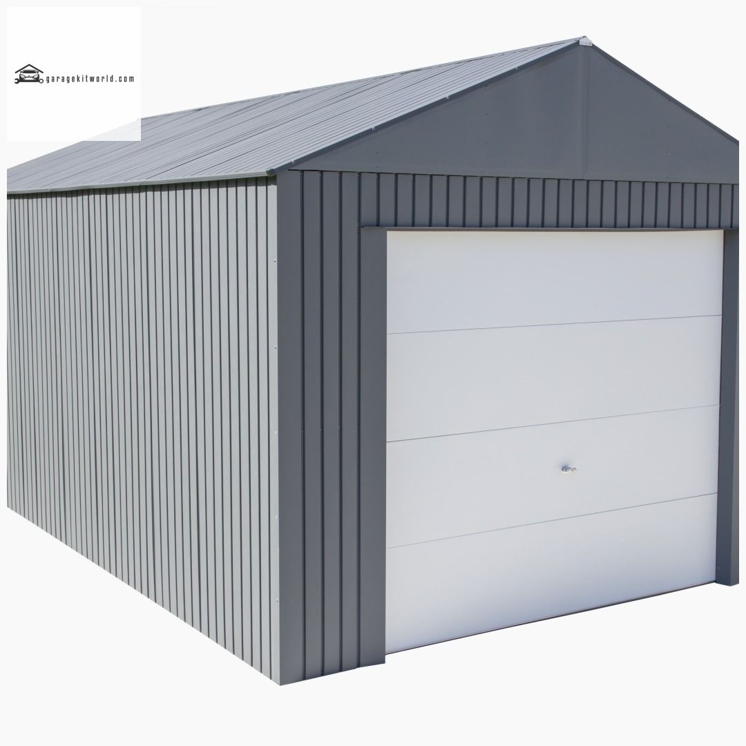 Everest Charcoal 12 x 20 Metal Garage Kit garage carport
