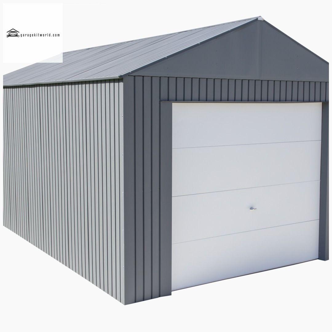 Everest Charcoal 12 x 20 Metal Garage Kit garage carport