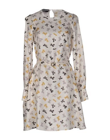 ROCHAS Short Dress. #rochas #cloth #dress #top #skirt #pant #coat #jacket #jecket #beachwear #