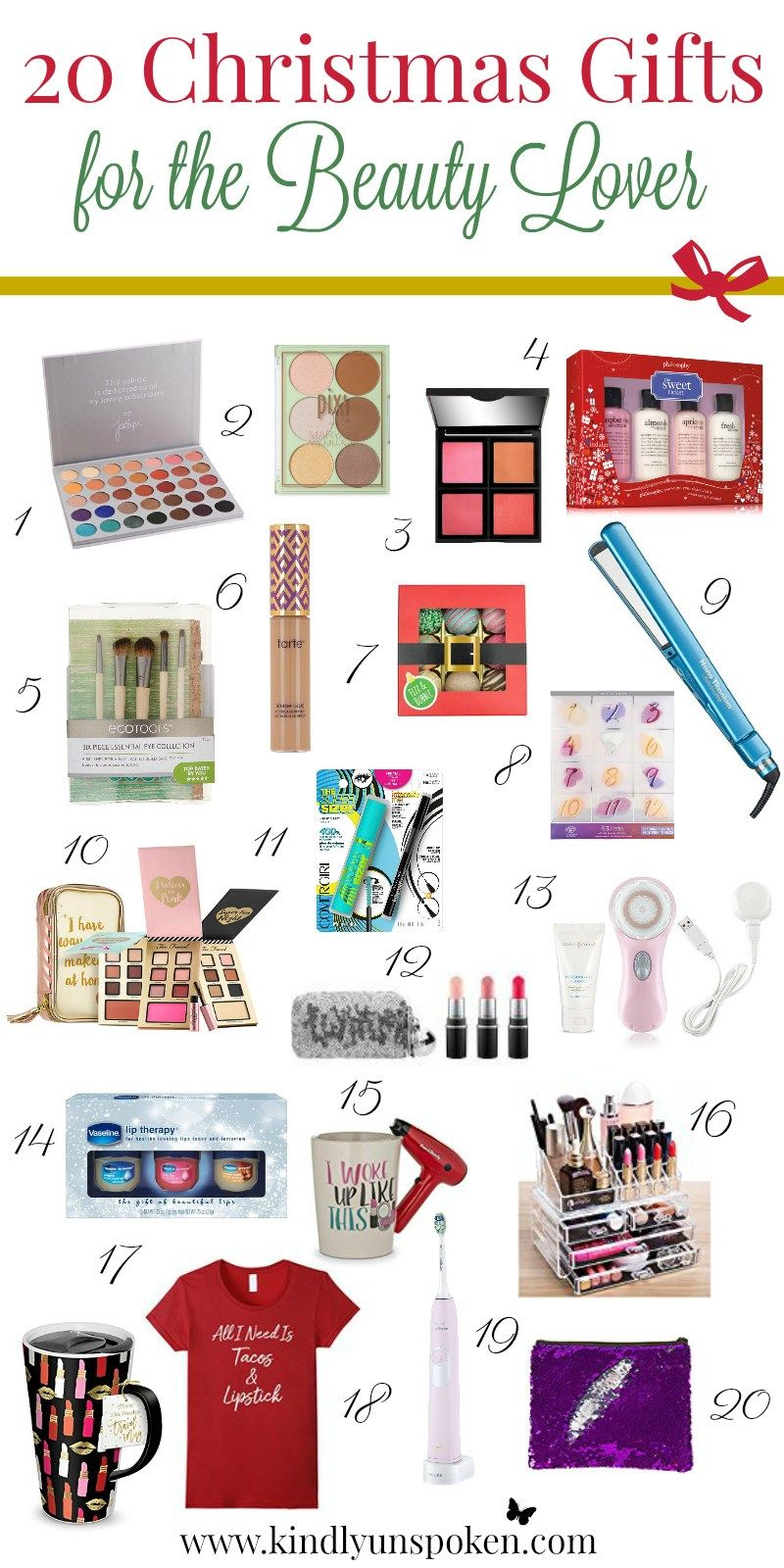 20 christmas gifts for the beauty lover check out this list of top rated products