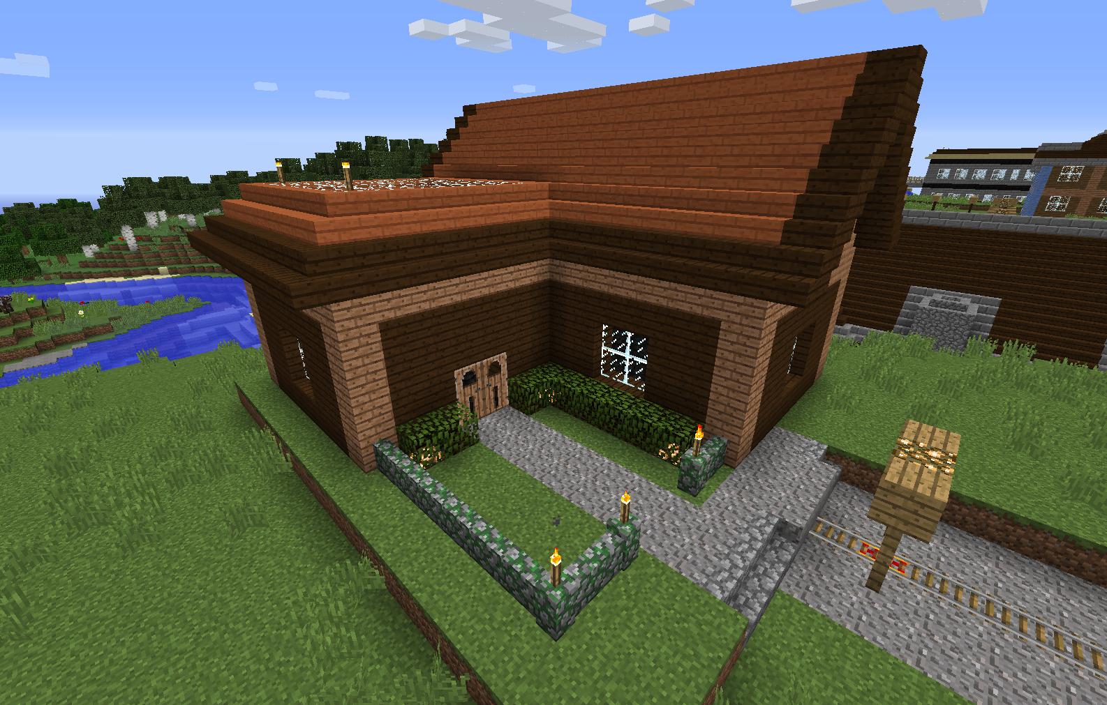 12.12.12.12:12 : LizC12 Minecraft: My 12th build: L-Shaped