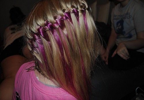 fashion, girl, hair, knitting, necklace