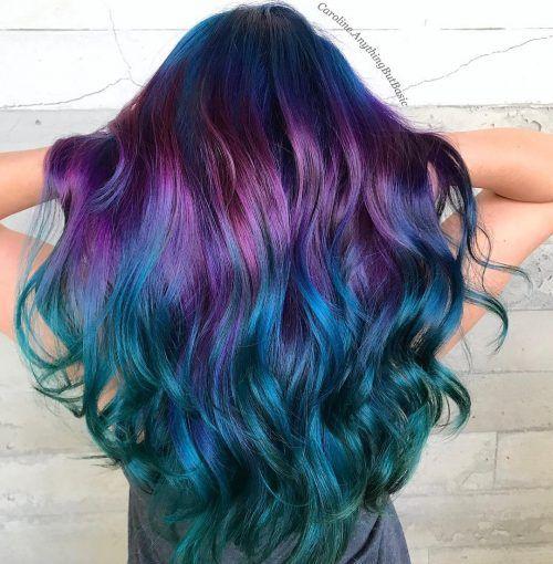 23 Incredible Galaxy Hair Color Ideas 23 Incredible Galaxy Hair Color Ideas