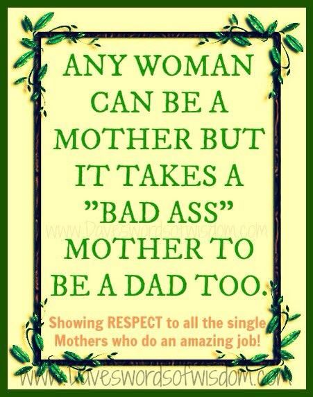 Did it for a few years  Much respect for single Moms