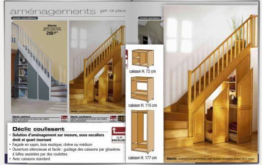 rangement sous escalier coulissant recherche google rangement chambre pinterest bonjour. Black Bedroom Furniture Sets. Home Design Ideas